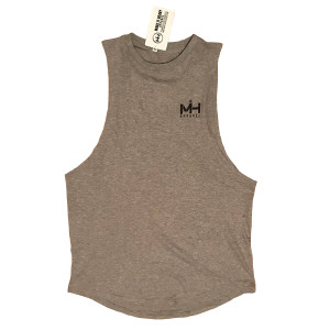 grey mucle tank