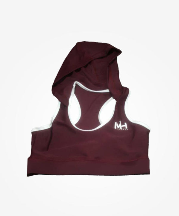 Hooded Sports Bra